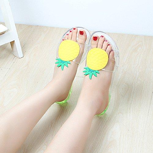 Appartamenti Estate E Antiscivolo Kong Moda New 36 Style Pantofole Sandali All'aperto Sociale Hong Spiaggia c Fashion Alla 40 Donne Jia Femminile A FTwvqv