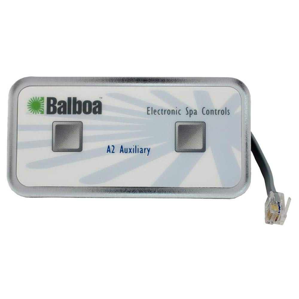 Balboa 51216 2-Button Auxillary 6-Conductor SPA Control Panel with ...
