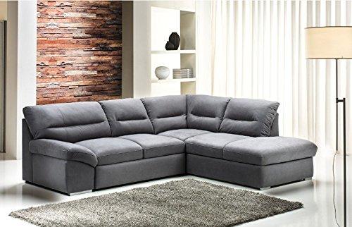 Copridivano angolare per divano in pelle latest divano angolare in tessuto nabuk letto e - Copridivano angolare per divano in pelle ...
