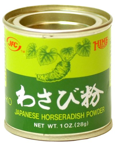 Hime Powdered Wasabi (Japanese Horseradish) - 1 oz. (Pack of 12) by Unknown