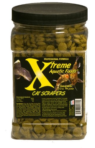 Xtreme Aquatic Foods 2171-F Cat Scrapers Fish Food Review