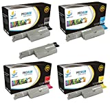 Catch Supplies 5110 5-Pack Premium Replacement Toner Cartridge Compatible with Dell 5110 5110CN Laser Printers |Black 310-7890, Cyan 310-7892, Magenta 310-7894, Yellow 310-7896|
