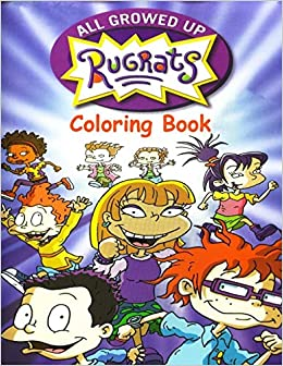 Amazon Com Rugrats All Grown Up Coloring Book Coloring