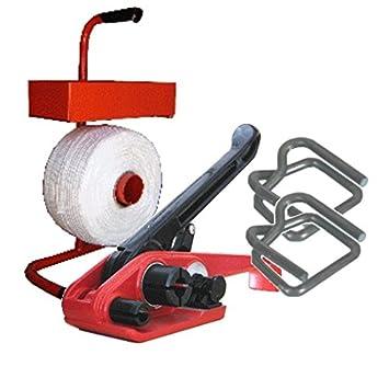 Angebot: 19mm Textilband Umreifungsset Umreifungs Set Bündelset ...