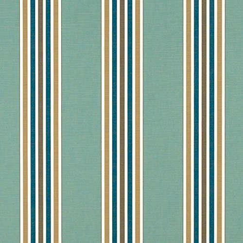 Sunbrella Mayfield Collection Coastal/Spa #4851-0000 Awning / Marine Fabric by Sunbrella - Awning / Marine Stripe
