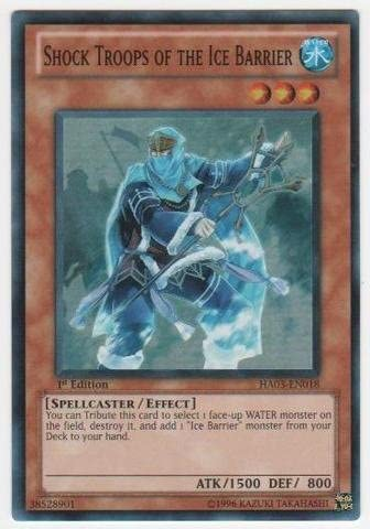 Yugioh HA03-EN048 Spellbreaker of the Ice Barrier 1st Edition Super Rare