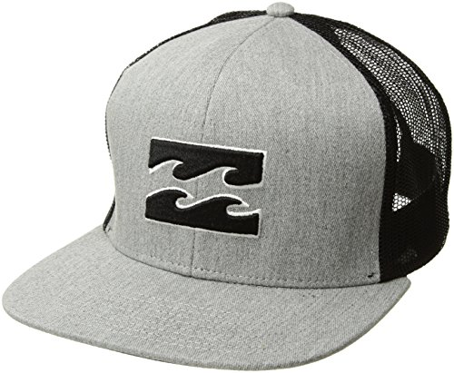 Billabong Men's All Day Trucker Hat Grey Heather One Size ()