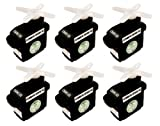 6-Pack of CSRC-55 Standard Feather Servo