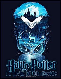 Harry Potter Le Livre De Coloriages Clavette Perrin 9781707511877 Amazon Com Books