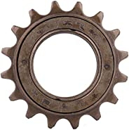 Bike Single Speed Freewheel, 16 Teeth Bike Freewheel Cassette Sprocket One-Speed 16T Bicycle Replacement Acces