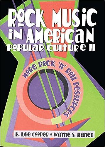 Rock Music in American Popular Culture II: More Rock ¿n¿
