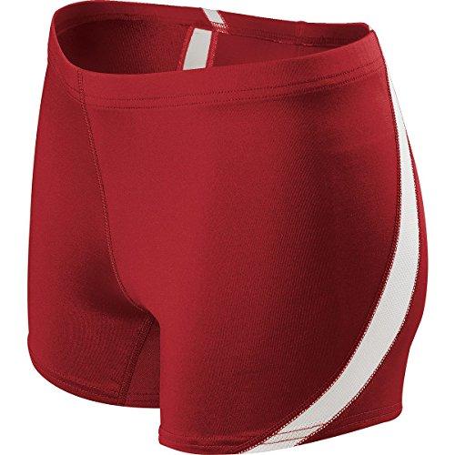 WOMEN'S BREAKLINE SHORT Holloway Sportswear M Scarlet/White
