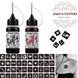 Best Henna Tattoo Kits - Jagua Temporary Tattoos Kit, Semi Permanent Freehand Ink/Paste, DIY Review
