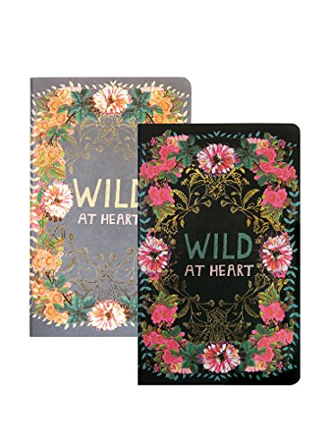 Sketch Hearts (Papaya Art Wild at Heart Sketch and Scribble Set, Staple Notebook - Pack of 2 (SN021))