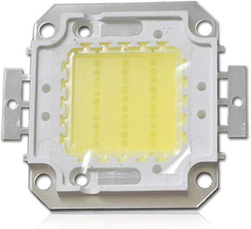 LED de Alta Potencia SMD Cob Bombilla Chip 10W 20W 30W 40W 50W Blanco Blanco Cálido Luz (10WWhite) - Blanco, 30w