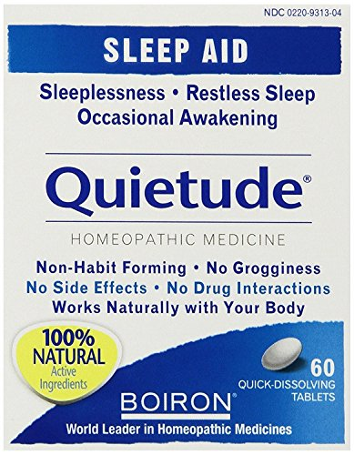 Boiron Quietude - 60 tabs (Pack of 6)