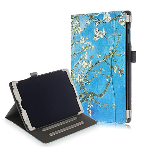 Sodoop for Samsung Galaxy Tab A SM-T515/T510 0.1Inch 2019 Tablet Leather Stand Case Cover Slim Folding Stand Cover with Auto Wake/Sleep