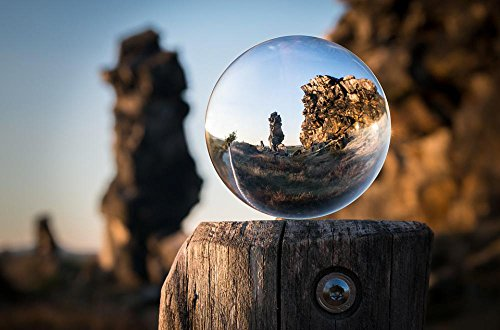 Sandstone Sphere - LAMINATED 36x24 inches Poster: Glass Ball Devil'S Wall Resin K'_Nigstein Globe Image Rock Hike Stone Formation Photo Sphere Hiking Sandstone Rocks Sand Stone Ball Wedder Live Germany