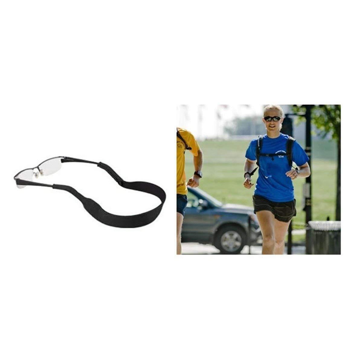 Kongqiabona Sonnenbrillen Neoprenband Vintage Solider Brillenb/ügel Brillengl/äser Neopren Stretchy Band Universal Sonnenbrillen Cord String Halter Seil