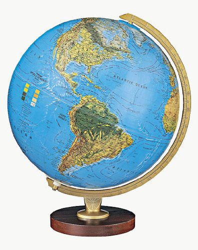 Replogle Globes Livingston Globe, 12-Inch, Blue Illume