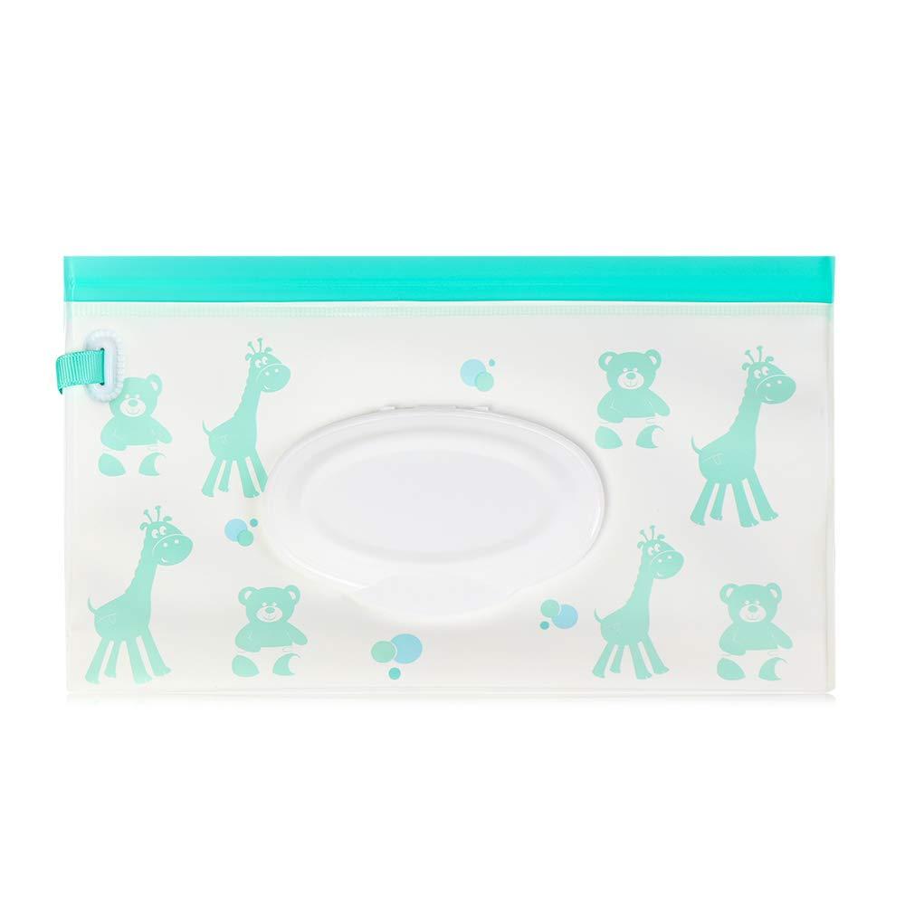 Kinderwagen-Zubeh/ör Feuchtt/ücher tragbare Tragetasche Kosmetiktasche mit Schnappverschluss 1 St/ück ETGUN Kosmetiktaschentuchbox