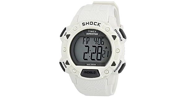 9d83adabc47 Timex T49899SU - Reloj cronógrafo de cuarzo para hombre con correa de  resina