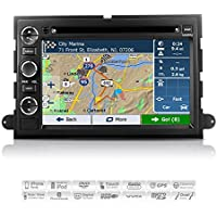 AIMTOM AMN-7001-MB Ford Expedition Explorer Mustang Sport Trac F-150 F-250 F-350 In-dash GPS Navigation Radio Bluetooth DVD Stereo 7 Touchscreen AV Receiver USB SD Player Copyrighted iGo Primo Maps