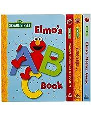 Sesame Street: Elmo's Little Library: Elmo's Mother Goose; Elmo's Tricky Tongue Twisters; Elmo Says; Elmo's ABC Book
