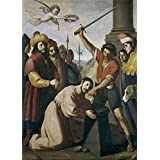 Canvas Prints Of Oil Painting 'Zurbaran Francisco De Martirio De Santiago Ca. 1640' 20 x 28 inch / 51 x 71 cm , High Quality Polyster Canvas Is For Gifts And Garage, Living Room And Nursery Decoration