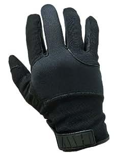 HWI Kevlar Palm - Guantes de caza para hombre, color negro, talla L