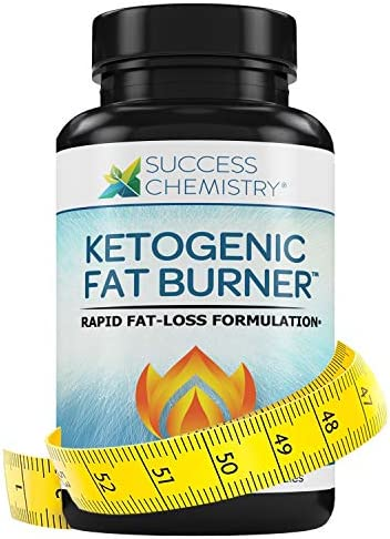 Ketogenic Fat Burner Women Men – Burn Belly Fat Fast – Carb Blocker – Weight Loss – Focus – Achieve Perfect Ketosis – Diet Pill – Non GMO – 60 Veggie Caps