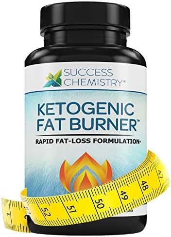 Fat Burner Women & Men, Burn Belly Fat Fast - Carb Blocker - Weight Loss - Focus - Achieve Perfect Ketosis - Diet Pill - Non GMO - 60 Veggie Caps