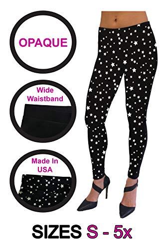 (Dare to Wear Victorian Gothic Boho Women's Plus Size Essential Leggings Rockstar)