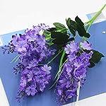 MARJON-Flowers5-Heads-Artificial-Flower-Fake-Silk-Hyacinth-for-Home-Garden-Party-Wedding-Decoration-2PCSLightpurple
