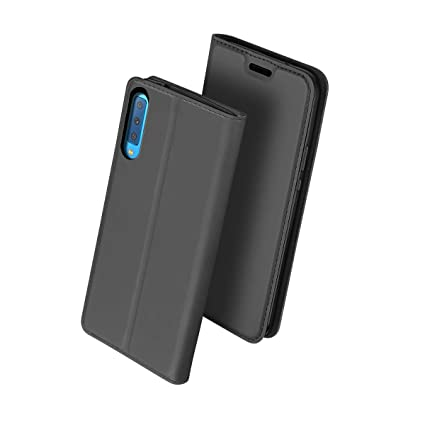 best service 68600 5fe40 Amazon.com: Dpowro for Samsung Galaxy A7 (2018) Genuine Leather ...