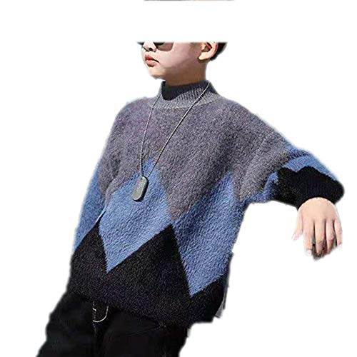 MZjJPN 3T-12 Years Spring Winter Baby Boys Sweaters Toddler Sweate Kids Warm Outerwear Pullover Winter Clothes 002 8