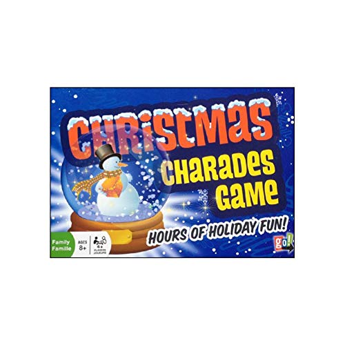 (Go Games Christmas Charades Board)