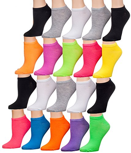colored ankle socks - 1