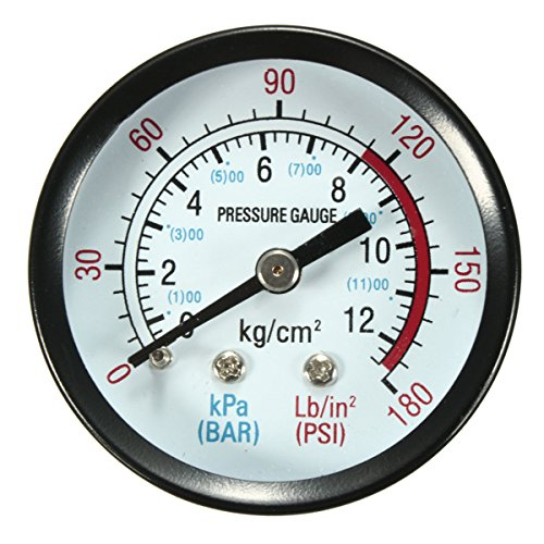 """Price comparison product image 1 / 4 4 Port Phase Compressor Pressure Switch + Air Safety Value and Gauge Set"""""""
