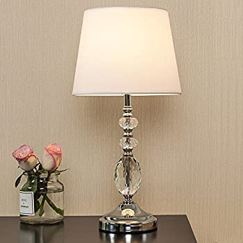 popilion tapered tiered clear crystal table lampmodern fashion table lamp