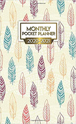 2020-2021 Monthly Pocket Planner: Tribal Feathers Two-Year ...