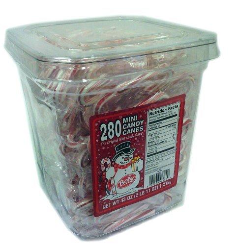 (Bob's Mini Canes - 280 Candy Canes )