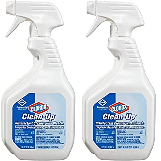 Multisurface Disinfectant Cleaner - Ready-To-Use Spray - 0.25 gal (32 fl oz) - 2 Bottle Pack