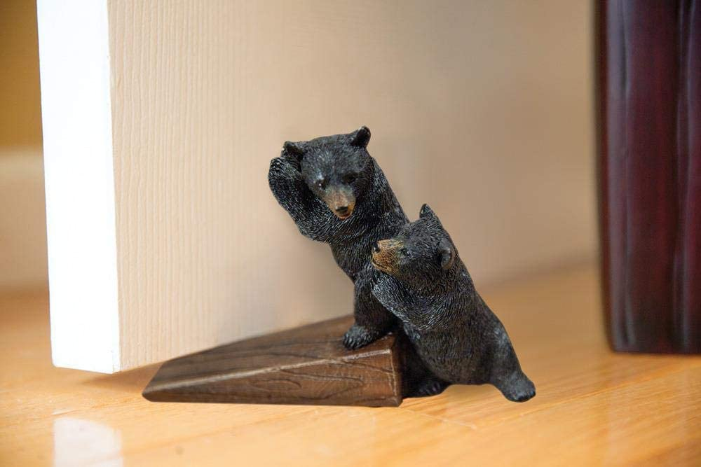 Manual Woodworkers Resin Bearcub Door Stopper