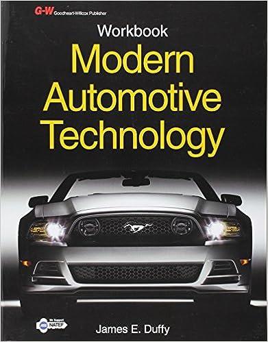 Modern automotive technology workbook james e duffy modern automotive technology workbook 8th edition fandeluxe Choice Image