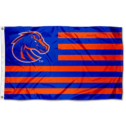 Boise State Broncos Stars and Stripes Nation Flag Boise State Broncos Flag