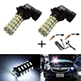 iJDMTOY Error Free 68-SMD 9005 LED Daytime Running Light Kit For Acura TSX TL RL RDX MDX Honda Accord Civic Pilot, etc
