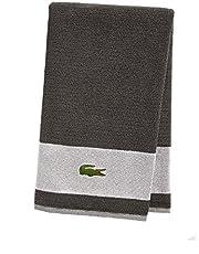 """Lacoste Match Bath Towel, 100% Cotton, 600 GSM, 30""""x52"""", Cliff"""