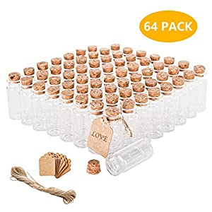 51zZ6qbLWWL._SS300_ Large & Small Glass Bottles With Cork Toppers