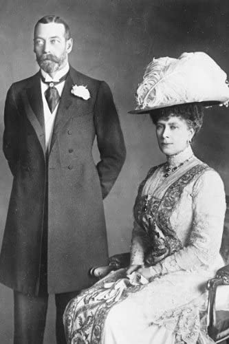 1914 New 5x7 Photo King George V and Queen Mary of England